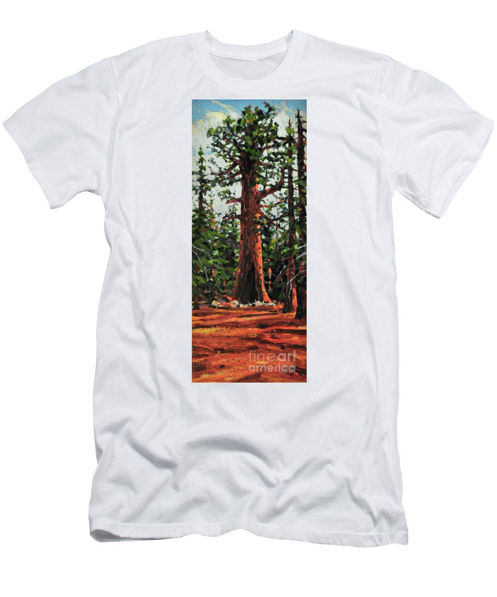 General Sherman Men's T-Shirt (Athletic Fit) featuring the painting General Sherman by Donald Maier