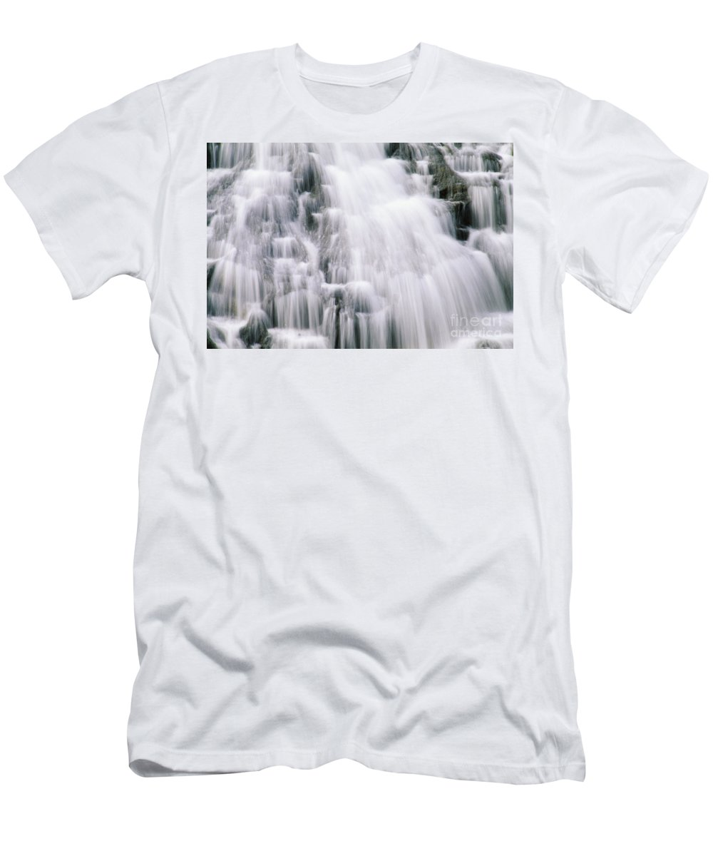 Beautiful Men's T-Shirt (Athletic Fit) featuring the photograph Guam, Talofofo Falls by Greg Vaughn - Printscapes