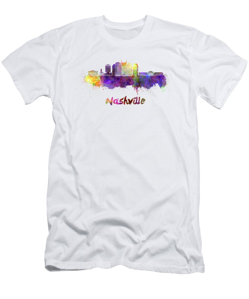 Nashville Skyline Slim Fit T-Shirts