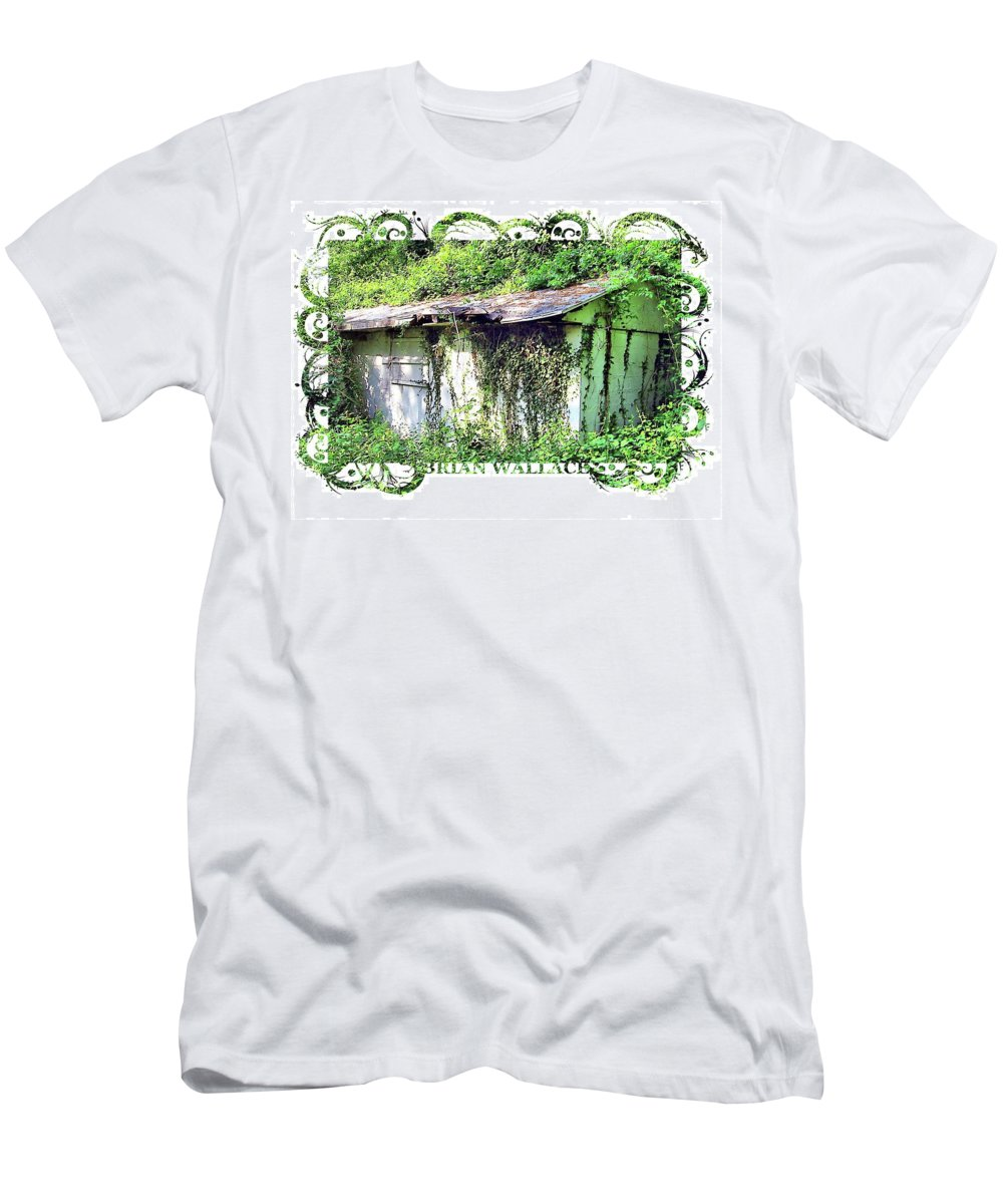 2d Men's T-Shirt (Athletic Fit) featuring the photograph Overwhelmed by Brian Wallace