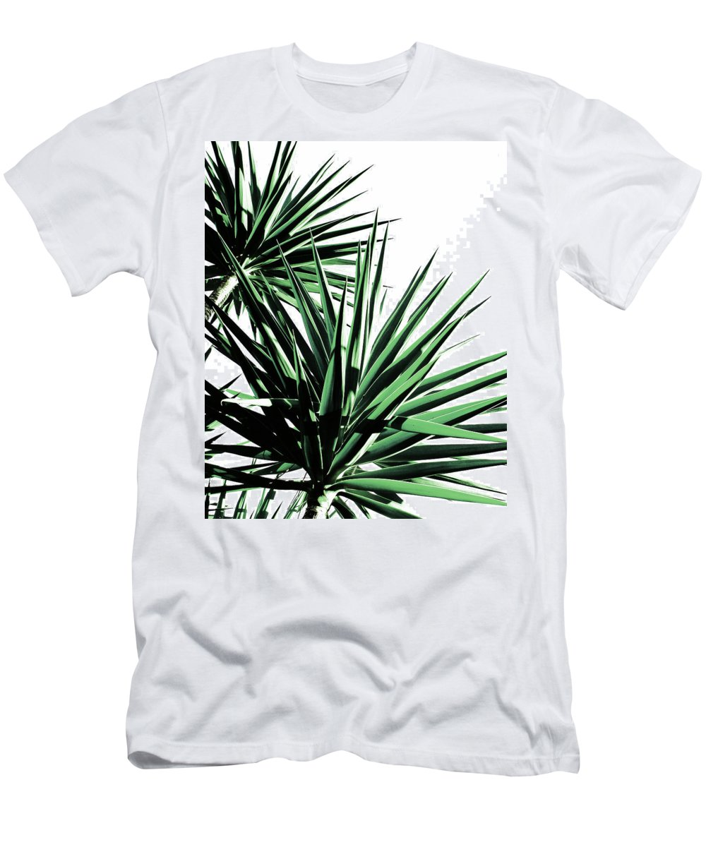 Palm Men's T-Shirt (Athletic Fit) featuring the photograph Palm by Julia Emelianteva