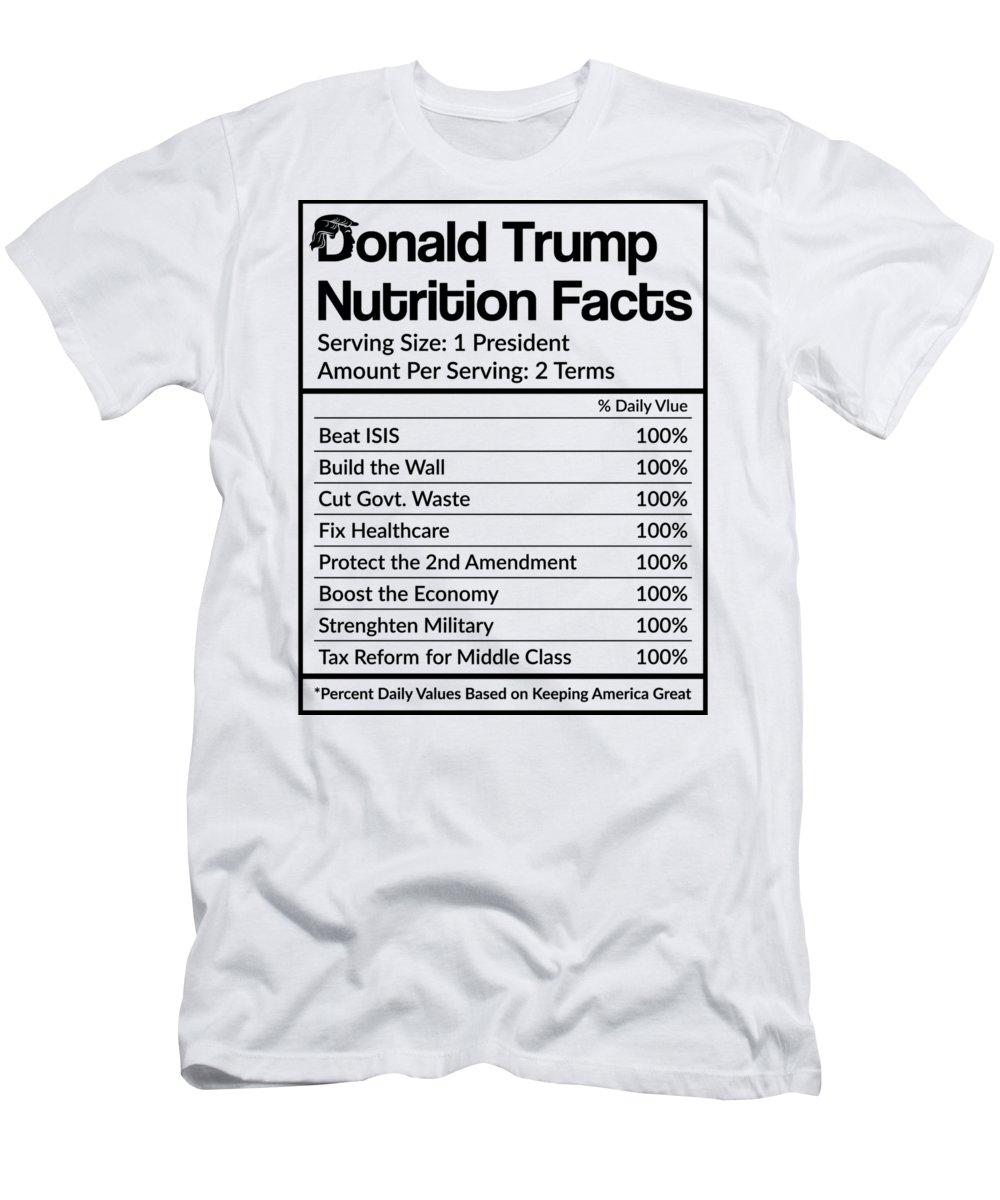 Donald-trump Men's T-Shirt (Athletic Fit) featuring the digital art Reelect Trump For President Keep America Great Light by Nikita Goel