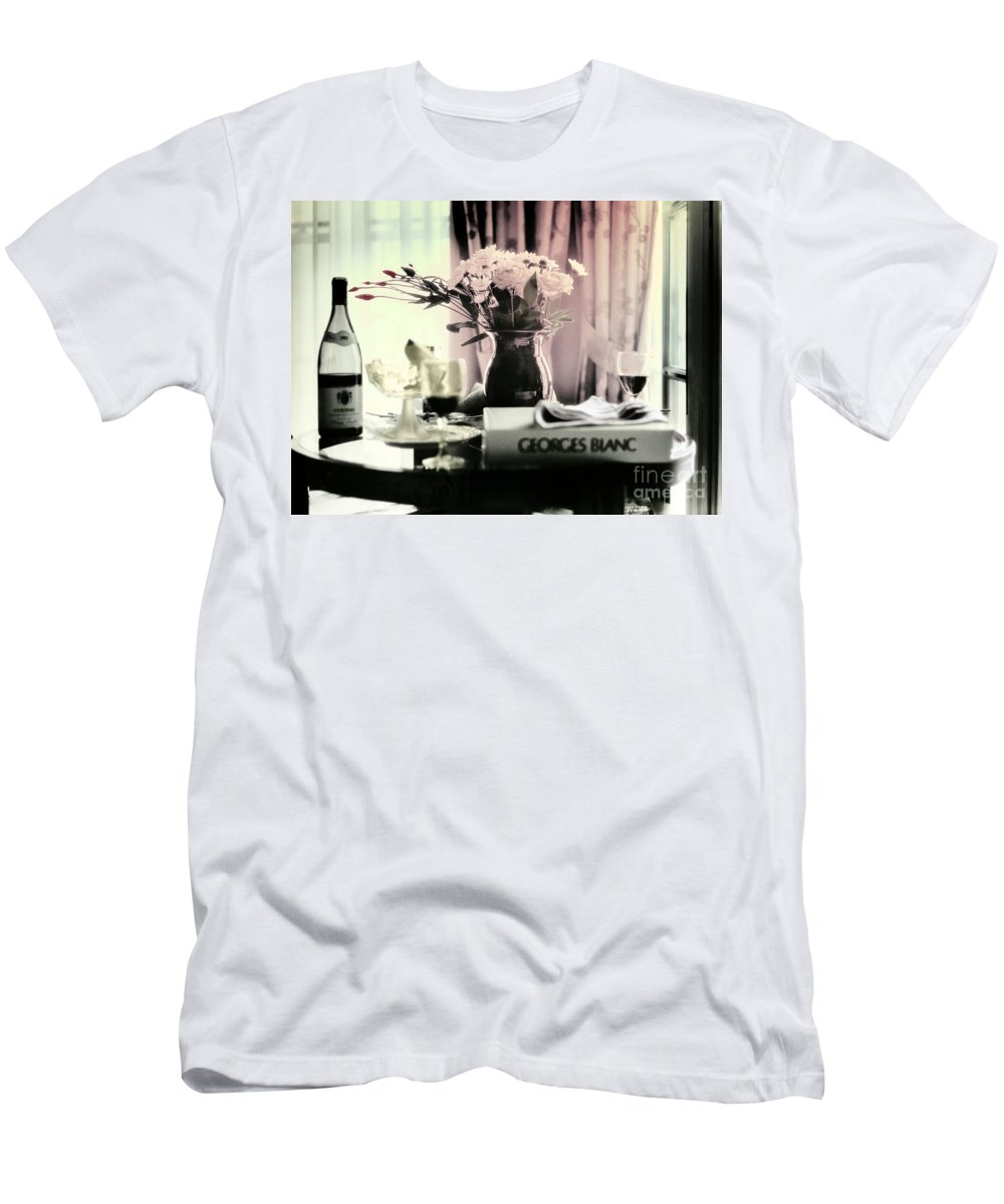 Romance Men's T-Shirt (Athletic Fit) featuring the photograph Romance In The Afternoon by Madeline Ellis