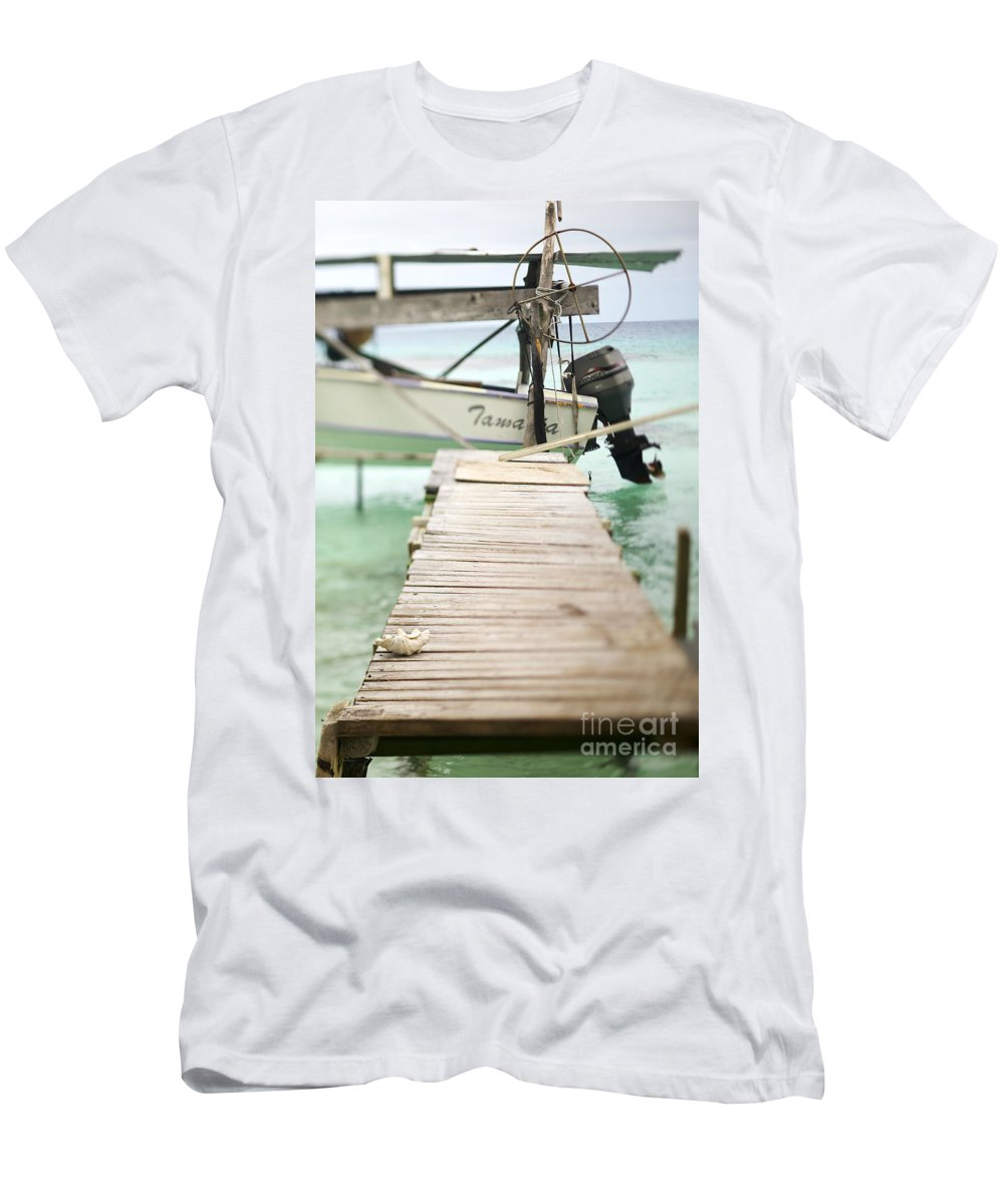 Afternoon Men's T-Shirt (Athletic Fit) featuring the photograph Tuamotu Isles by Kyle Rothenborg - Printscapes