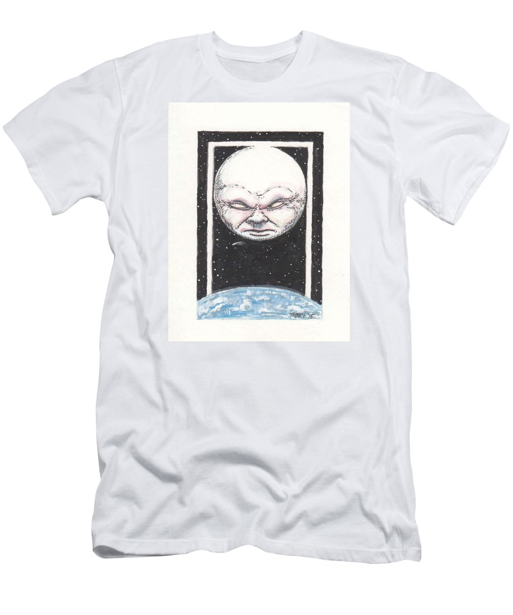 Furniture Men's T-Shirt (Athletic Fit) featuring the drawing Untitled by Tobey Anderson
