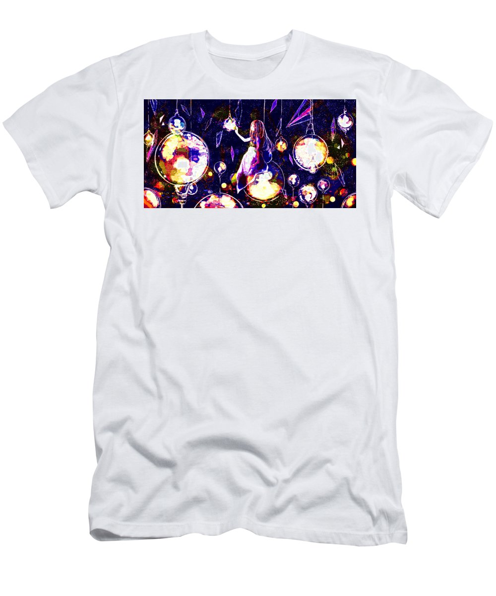 Original Men's T-Shirt (Athletic Fit) featuring the digital art Original by Lora Battle