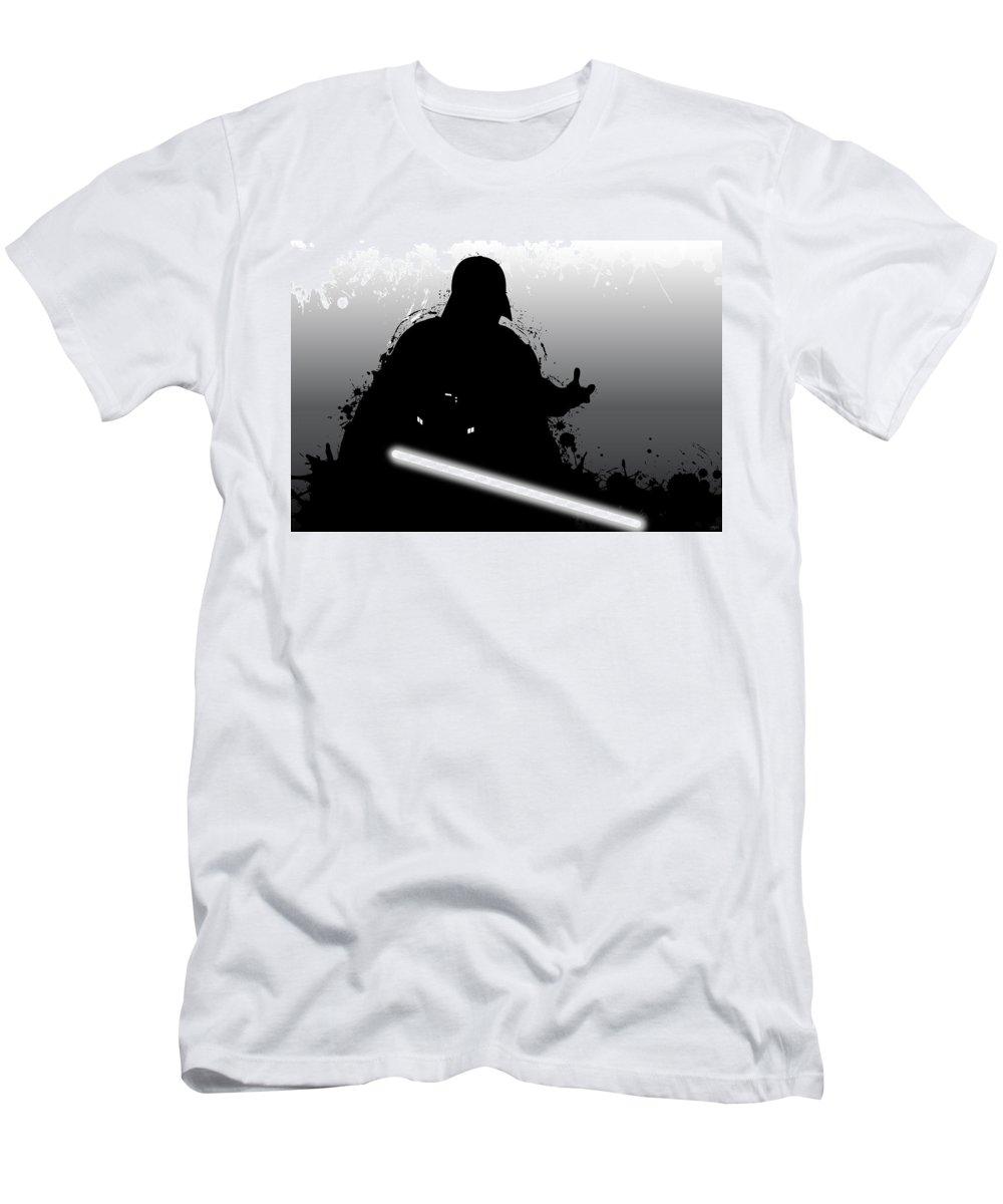 Star Wars T-Shirt featuring the digital art Darth Vader by Nathan Shegrud