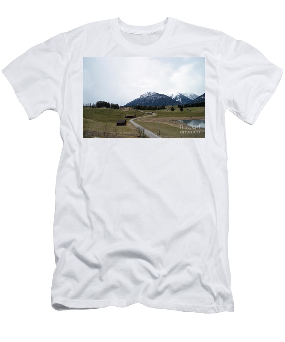 Germany Men's T-Shirt (Athletic Fit) featuring the photograph Germany by Photos By Zulma