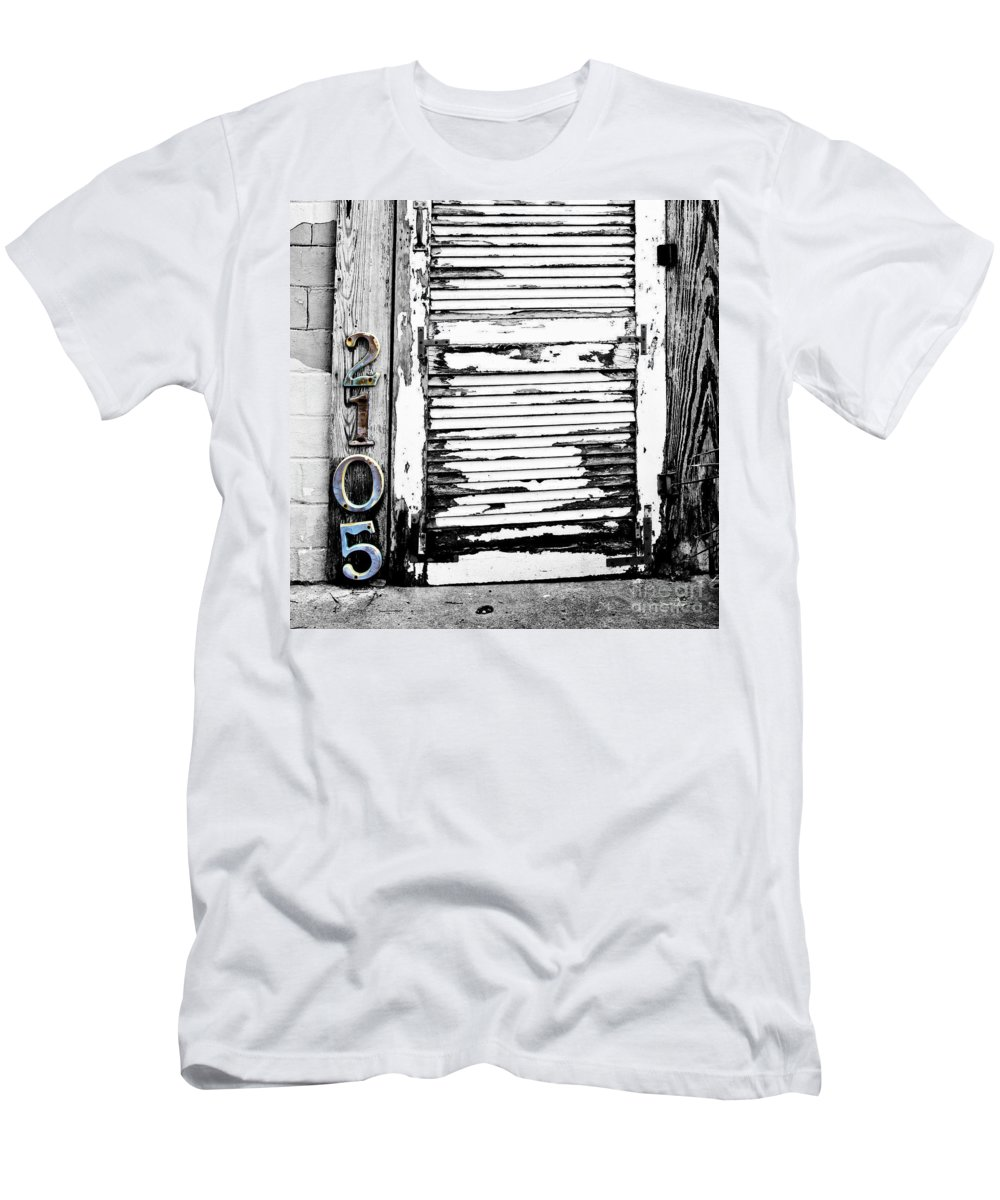Doorway Men's T-Shirt (Athletic Fit) featuring the photograph 2105 by Scott Pellegrin