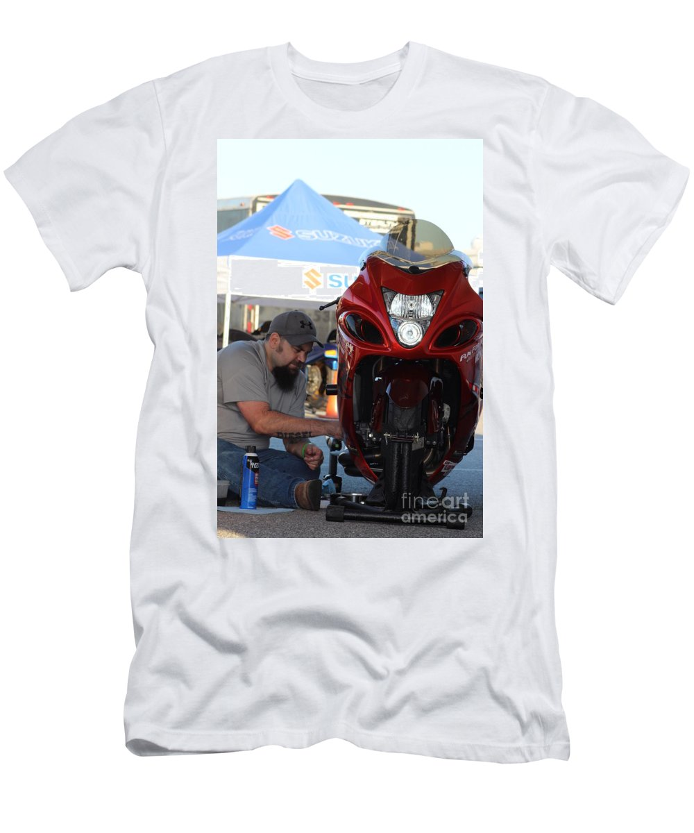 Manufacturers Men's T-Shirt (Athletic Fit) featuring the photograph Man Cup 08 2016 by Jack Norton
