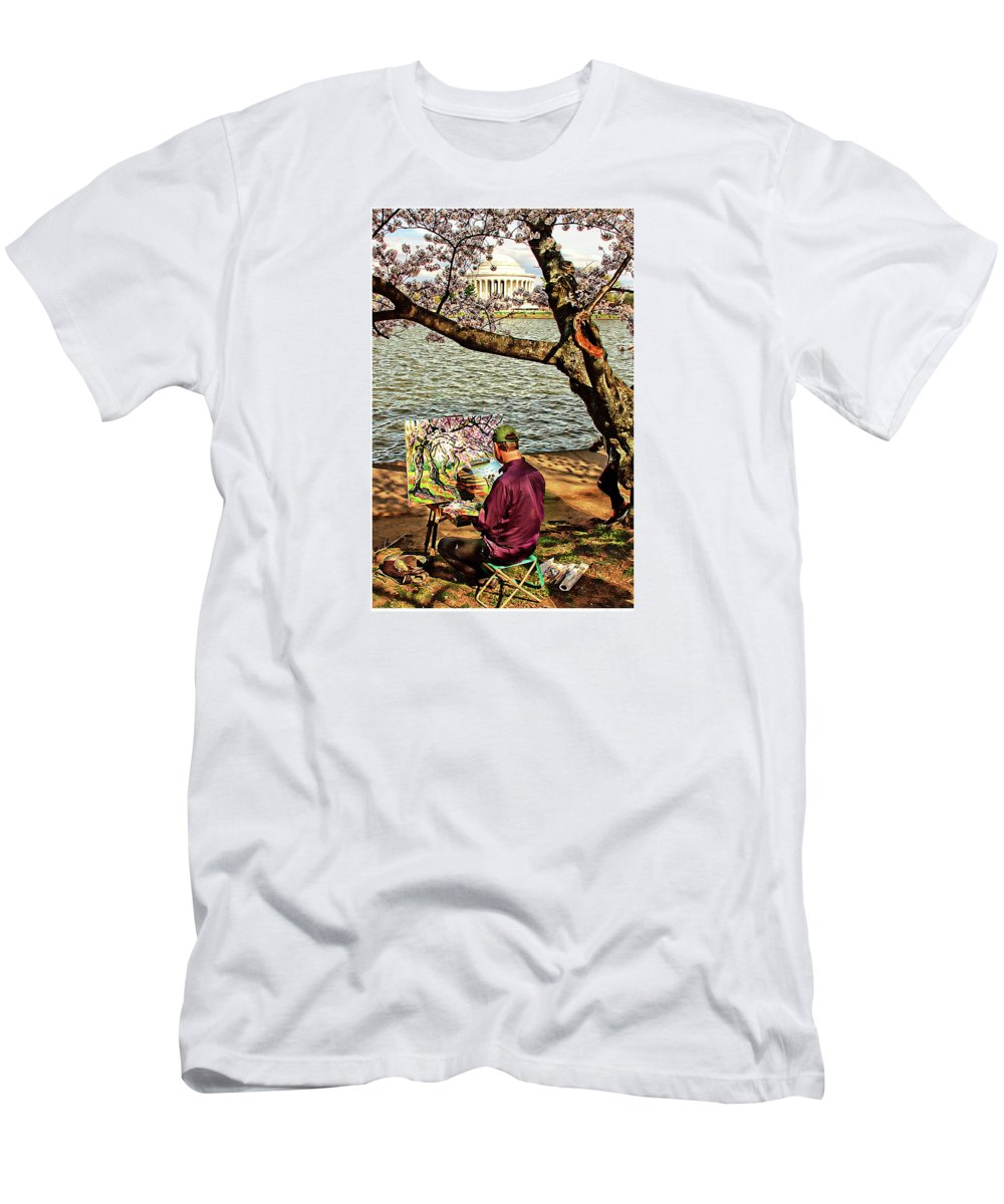 Artist T-Shirt featuring the photograph The Artist by Margie Wildblood