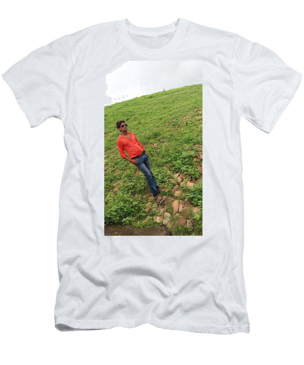 Harpal Singh Jadon Men's T-Shirt (Athletic Fit) featuring the photograph Harpal Singh Jadon by Harpal Singh Jadon Jadon