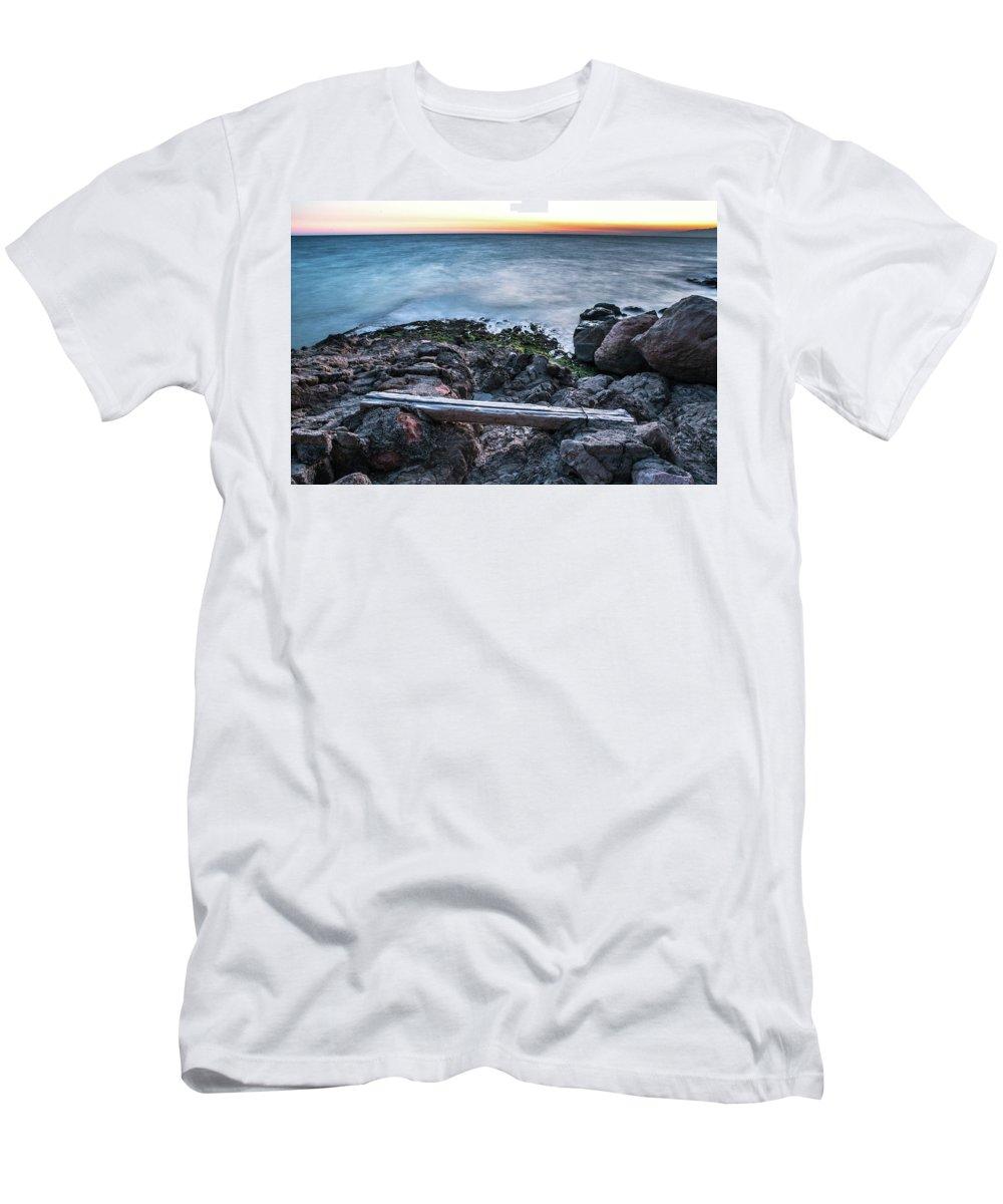Cap Salou Men's T-Shirt (Athletic Fit) featuring the photograph Cap Salou, Spain by Chantelle Flores