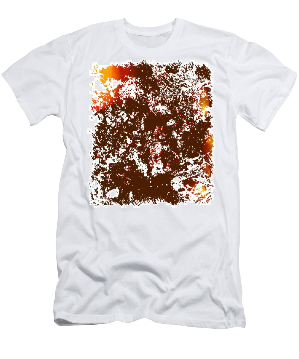Acrylic Men's T-Shirt (Athletic Fit) featuring the painting Empathy by Dirk Weed