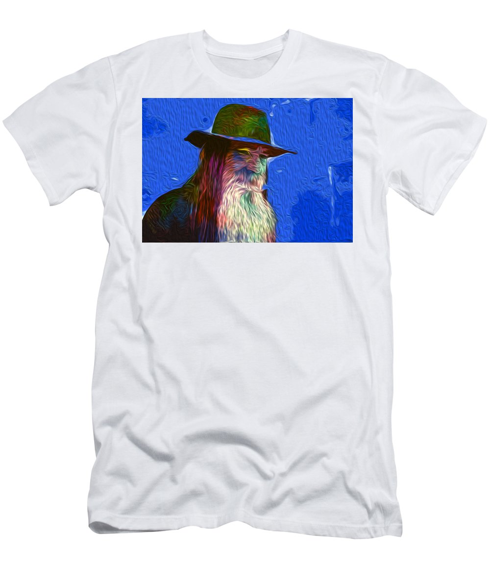 Digital Art Men's T-Shirt (Athletic Fit) featuring the digital art Untitled by The untalented-talented Artist