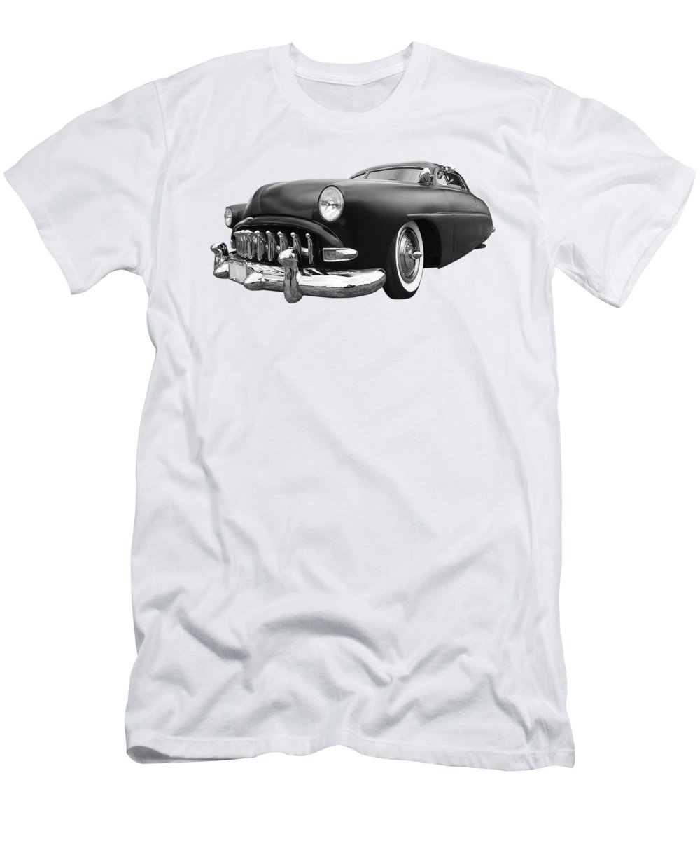 Hotrod Men's T-Shirt (Athletic Fit) featuring the photograph 52 Hudson Pacemaker Coupe by Gill Billington