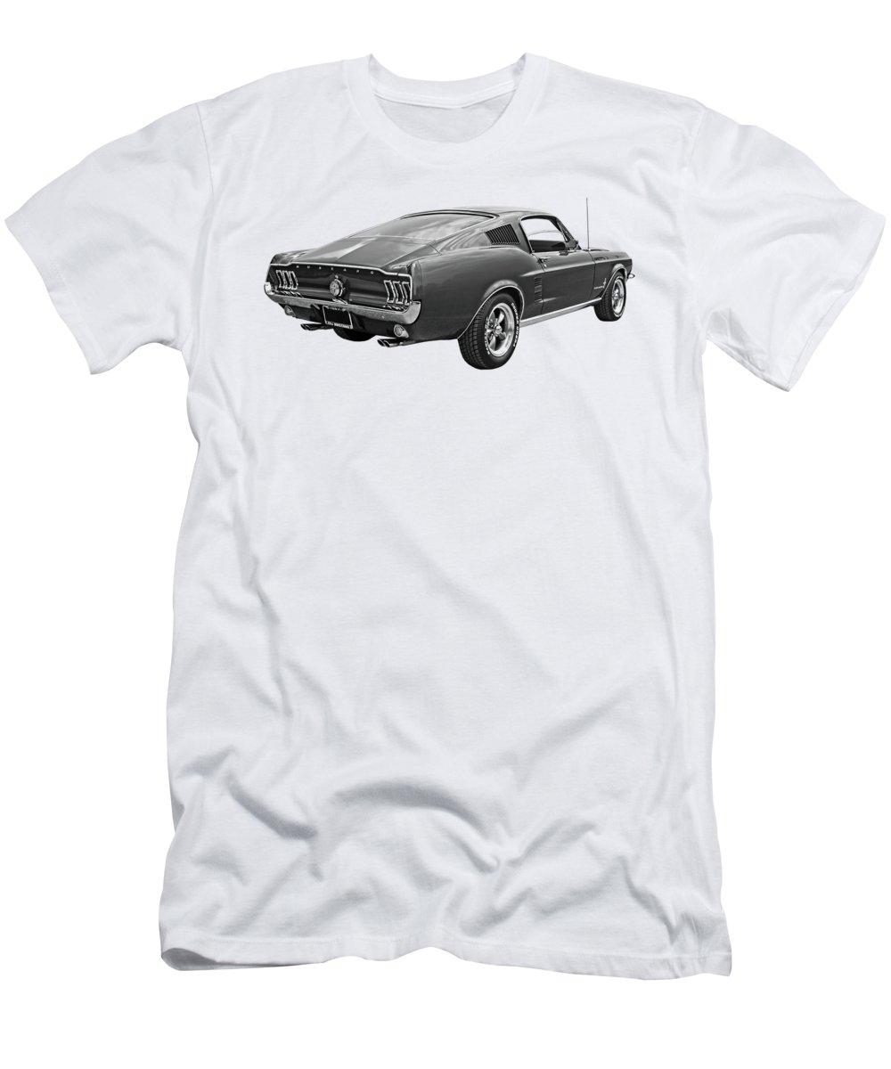 1967 ford mustang fastback t shirts fine art america. Black Bedroom Furniture Sets. Home Design Ideas