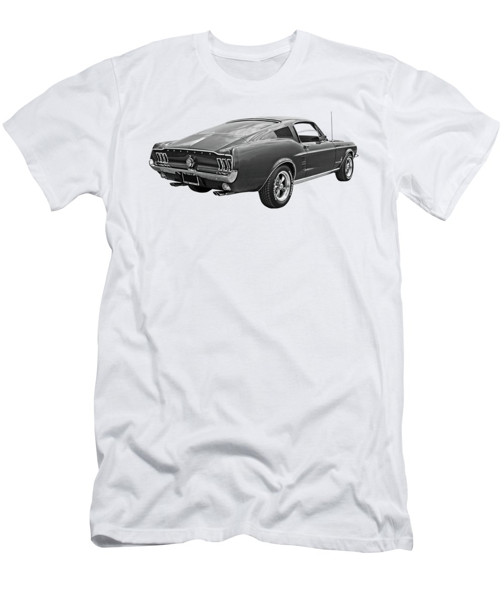 1967 ford mustang fastback t shirts fine art america. Black Bedroom Furniture Sets. Home Design Ideas