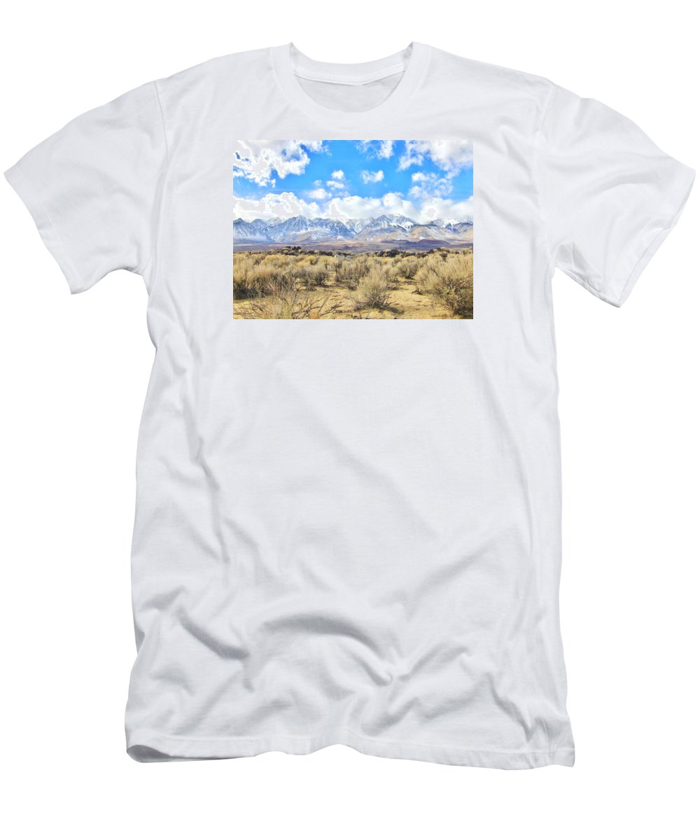 Sky Men's T-Shirt (Athletic Fit) featuring the photograph Just Looking by Marilyn Diaz