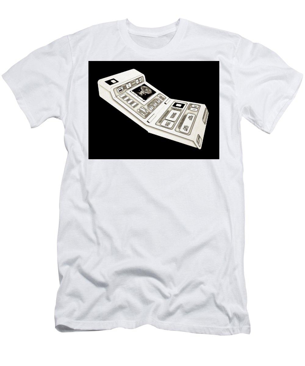 Star Trek Men's T-Shirt (Athletic Fit) featuring the digital art Star Trek by Lora Battle