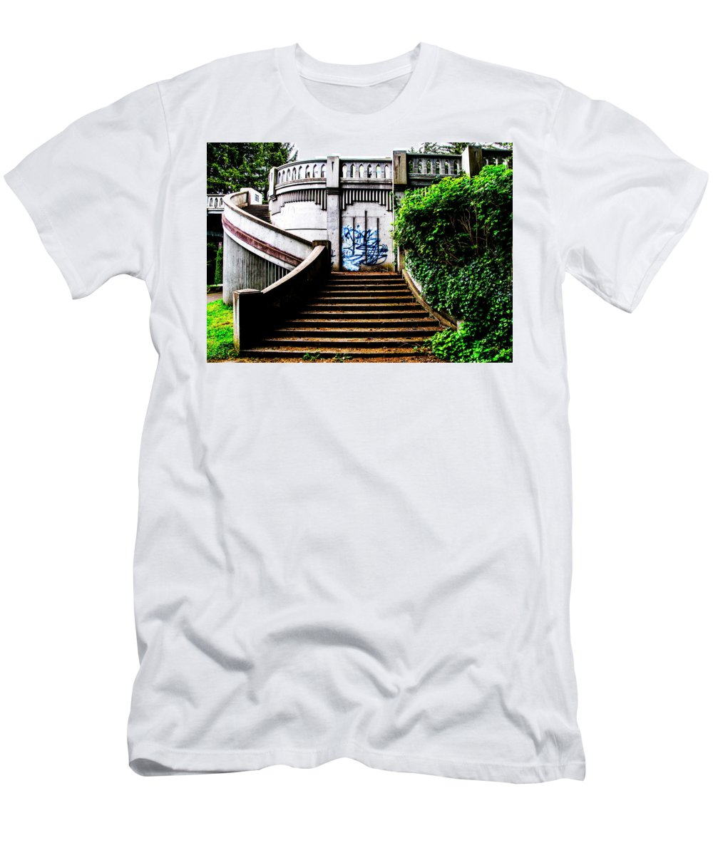 Men's T-Shirt (Athletic Fit) featuring the photograph Oregon Coast by Angus Hooper Iii