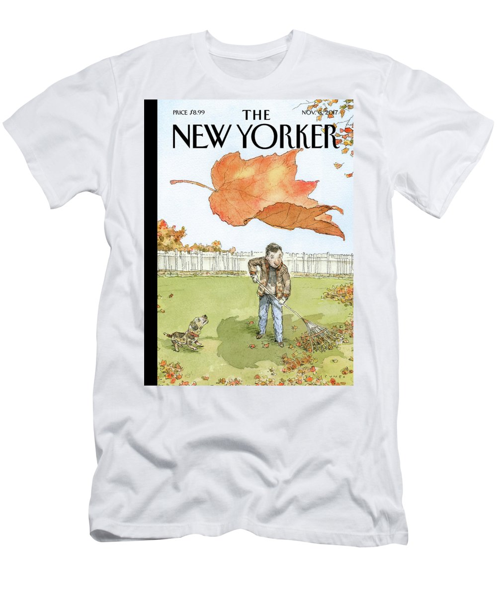 A Rake's Progress T-Shirt featuring the drawing A Rakes Progress by John Cuneo