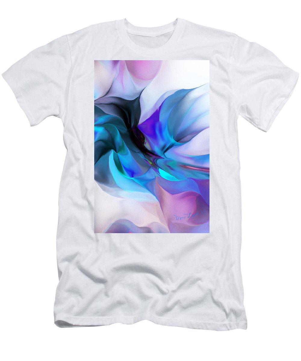 Fine Art T-Shirt featuring the digital art Abstract 012513 by David Lane
