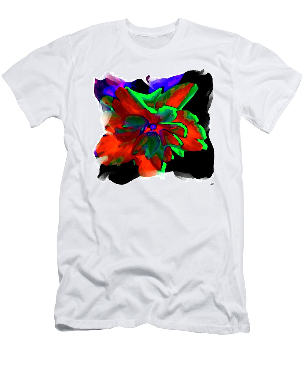 Abstract Men's T-Shirt (Athletic Fit) featuring the digital art Abstract Elegance by Will Borden