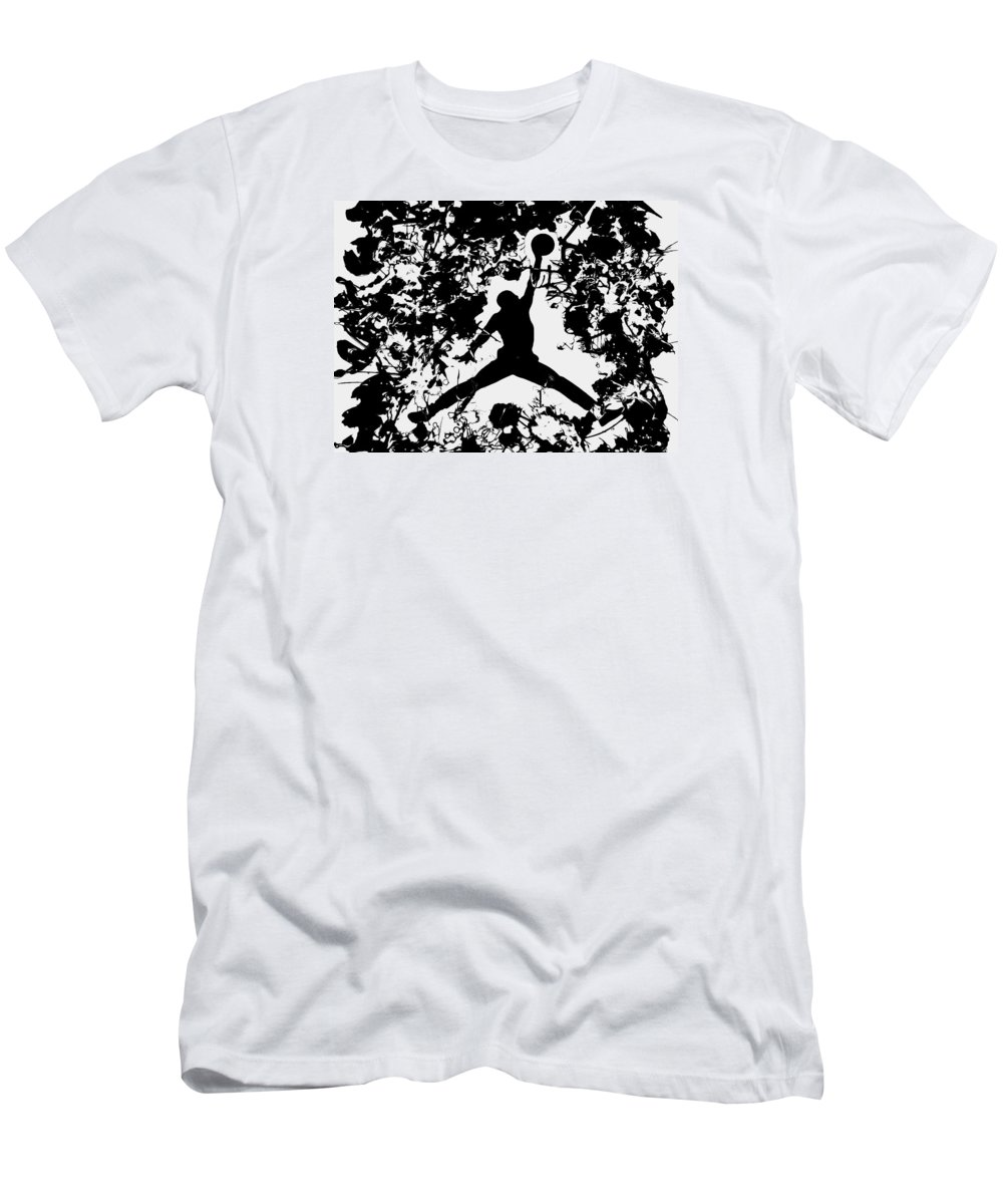 Air Jordan 1c T Shirt For Sale By Brian Reaves Michael Mens Athletic Fit Featuring The Painting