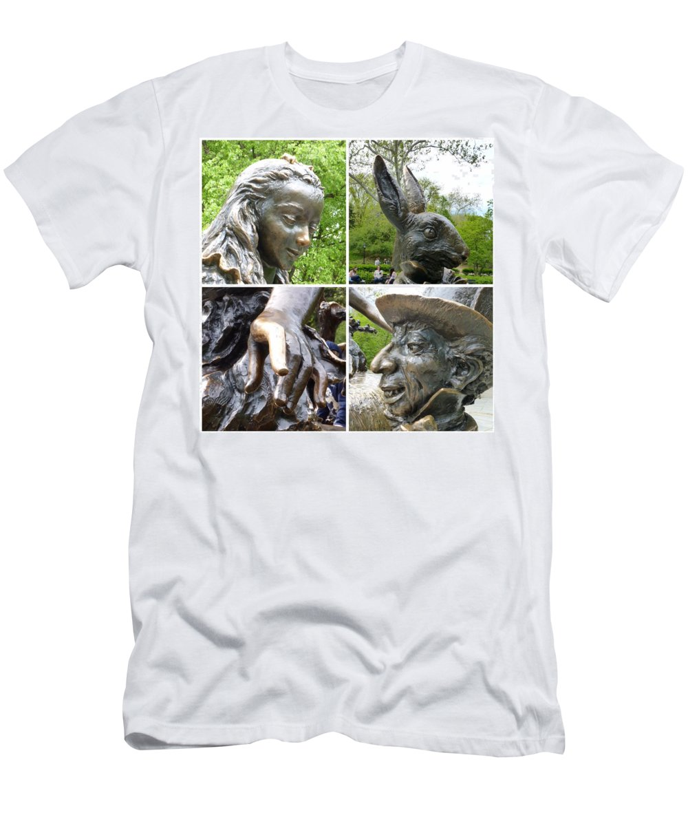 Central Park Men's T-Shirt (Athletic Fit) featuring the photograph Alice by Howard Rose