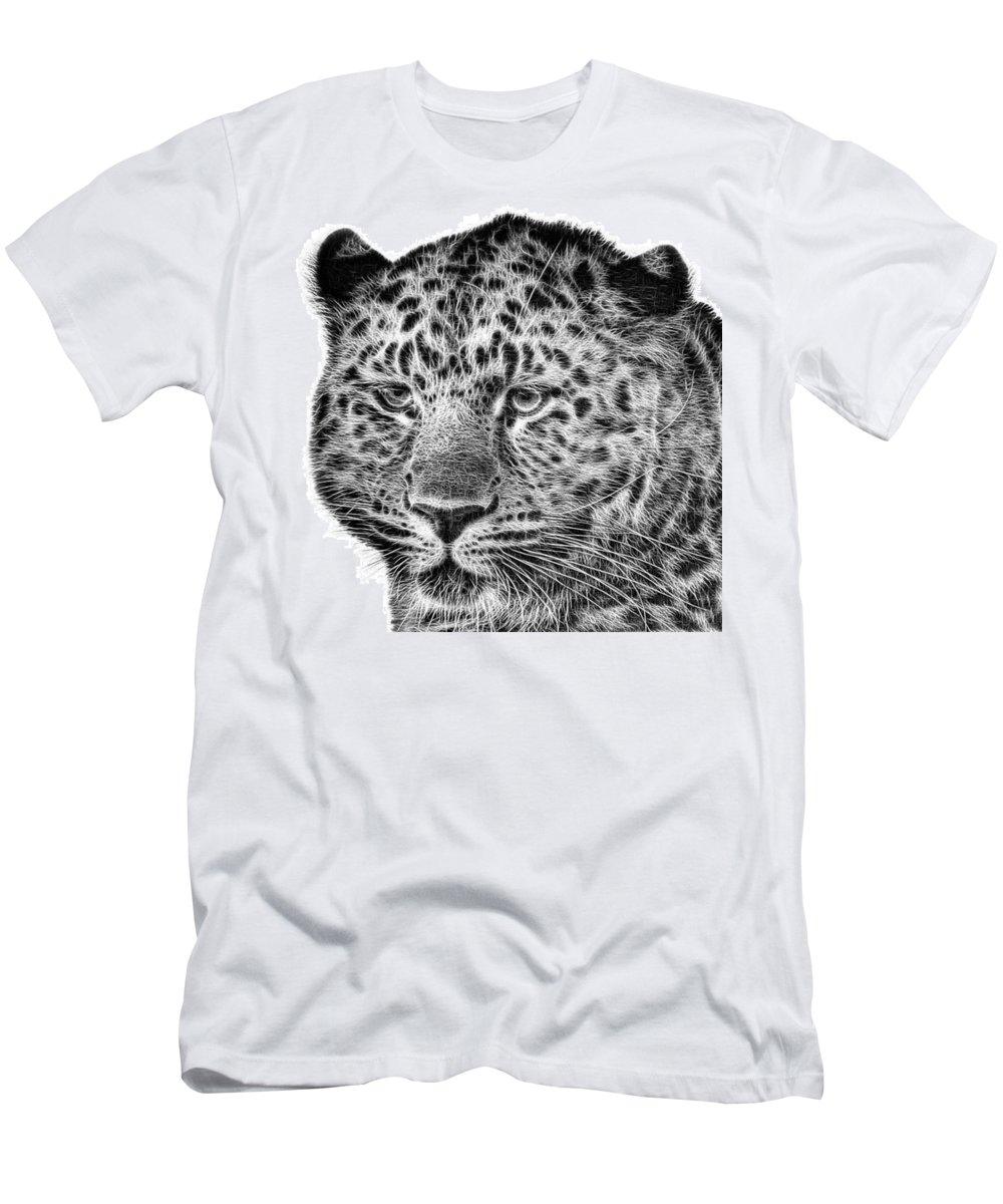 Snowleopard T-Shirt featuring the photograph Amur Leopard by John Edwards