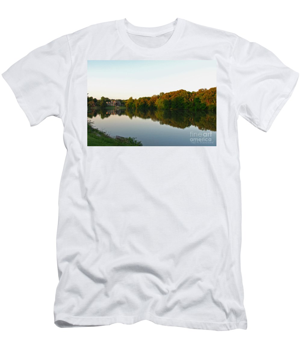 Landscape Men's T-Shirt (Athletic Fit) featuring the photograph An Excellent Vantage Point by Todd Blanchard