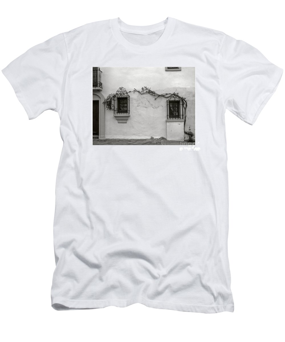 Andalucia Men's T-Shirt (Athletic Fit) featuring the photograph Andalucia Wall by Thomas Marchessault