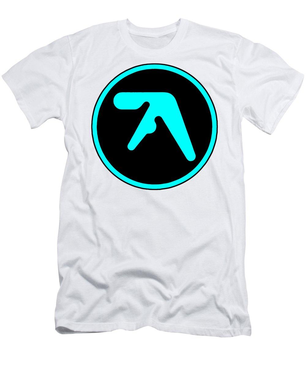 Aphex Twin Logo Aphex Men's T-Shirt (Athletic Fit)