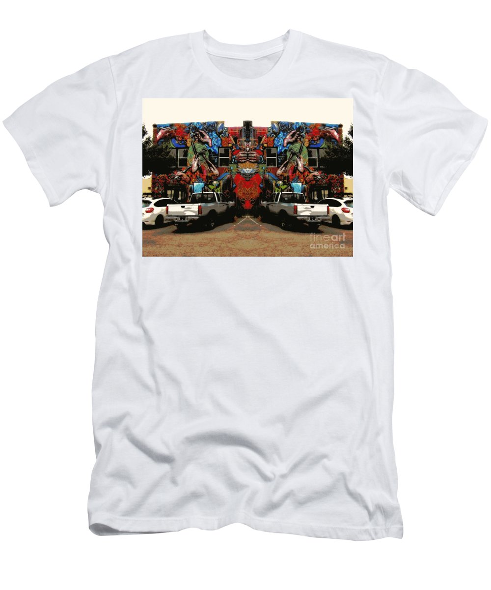 Men's T-Shirt (Athletic Fit) featuring the photograph Artistry Abounds by Kelly Awad