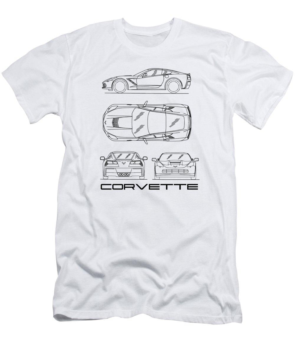 Black Corvette T-Shirt
