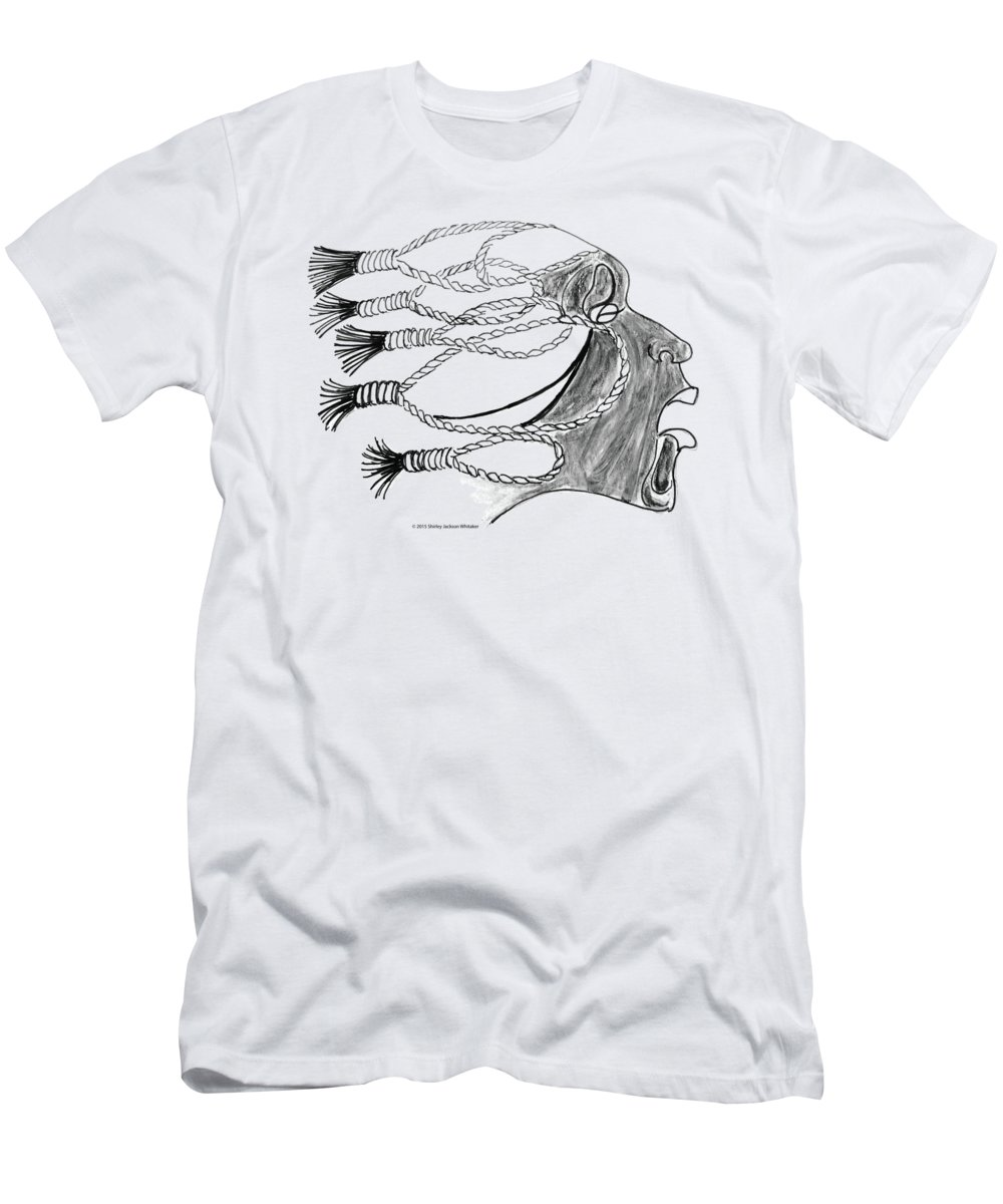 Ashes To Ashes Men's T-Shirt (Athletic Fit) featuring the digital art Ashes 2 Ashes by Shirley Whitaker
