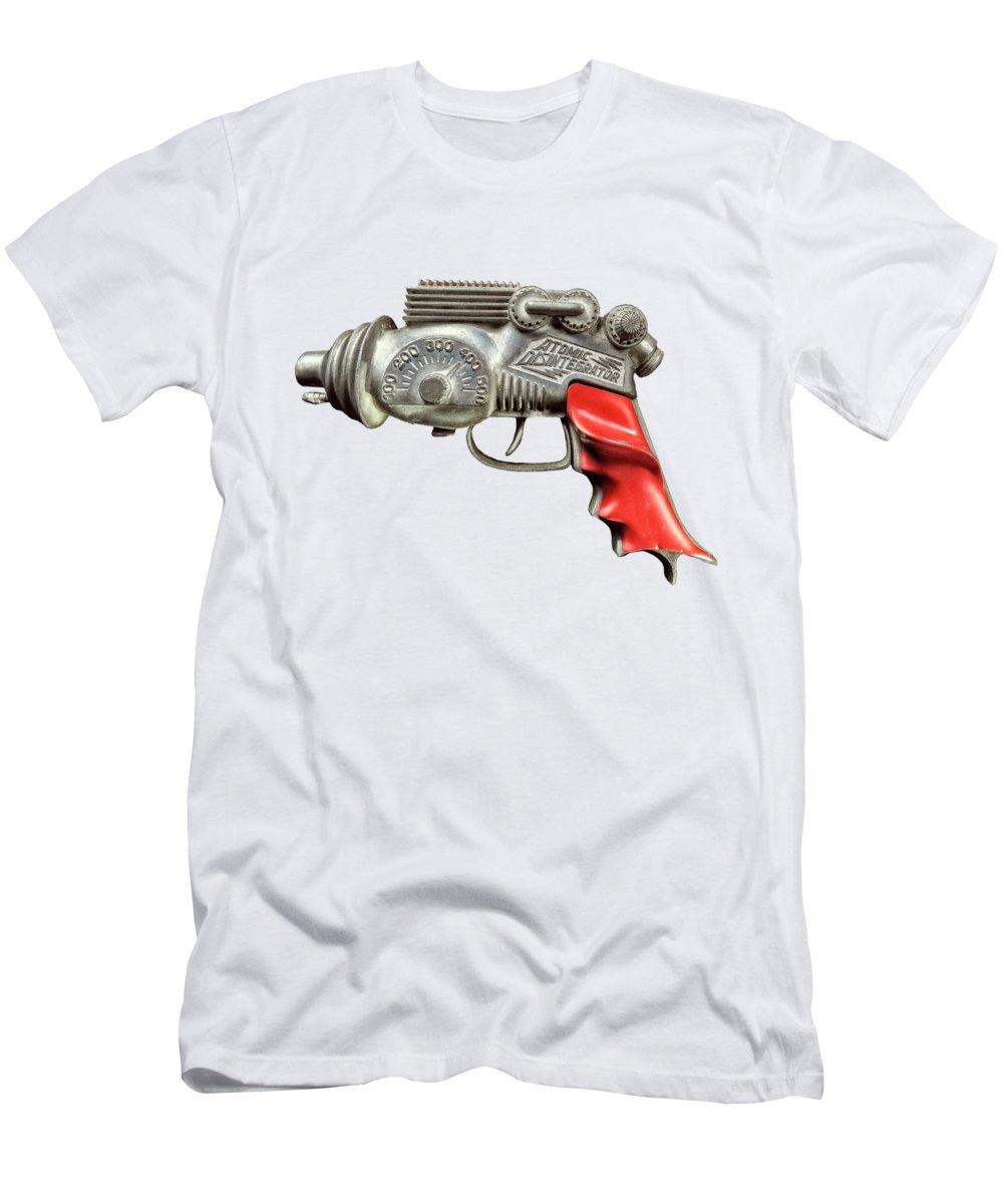 Art T-Shirt featuring the photograph Atomic Disintegrator by YoPedro