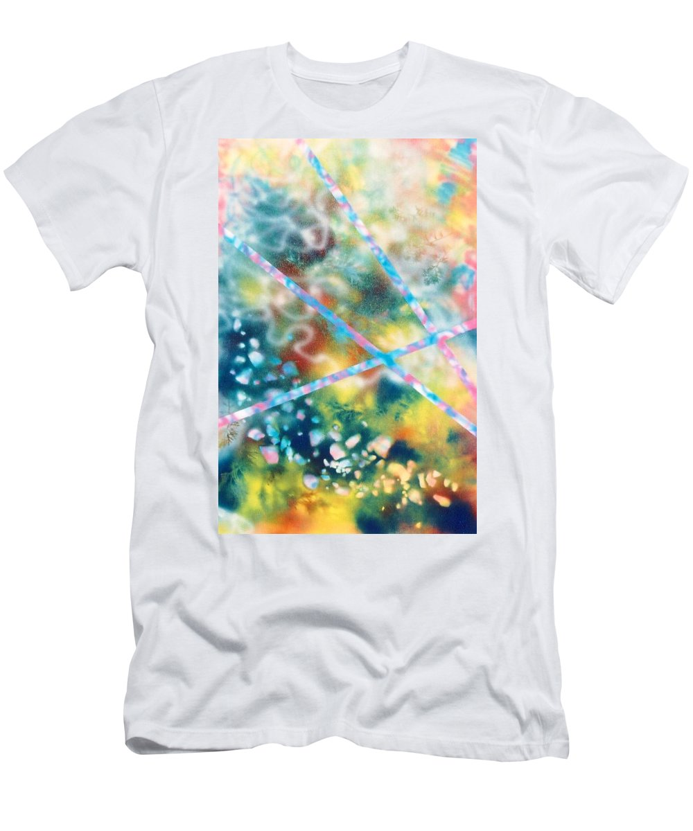 Abstract T-Shirt featuring the painting Autumn by Micah Guenther