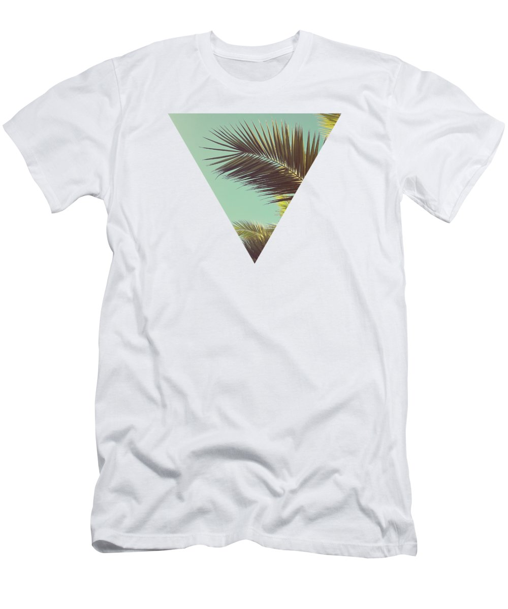 Palm Trees T-Shirt featuring the photograph Autumn Palms by Cassia Beck