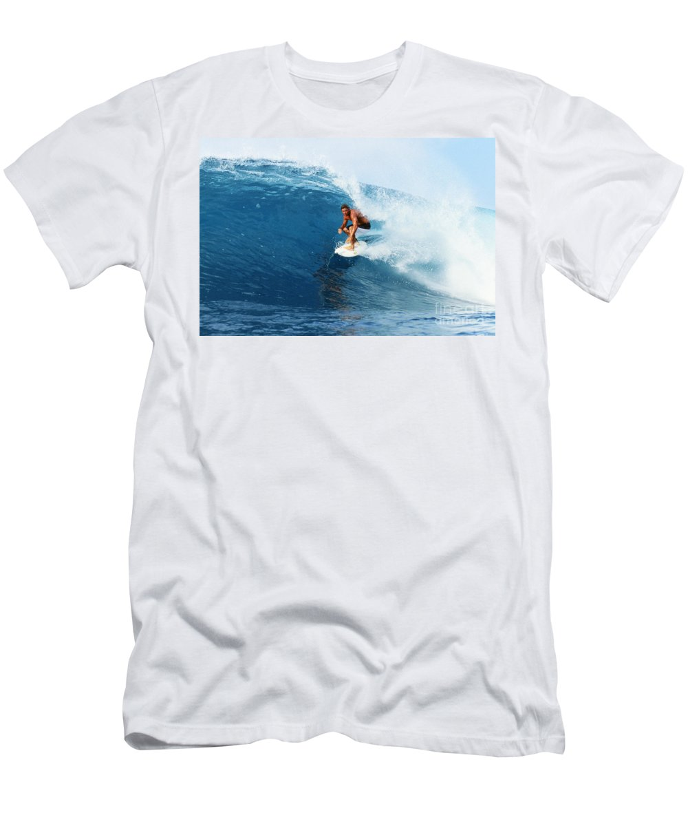 Adrenaline Men's T-Shirt (Athletic Fit) featuring the photograph Backdoor Pipe by Vince Cavataio - Printscapes