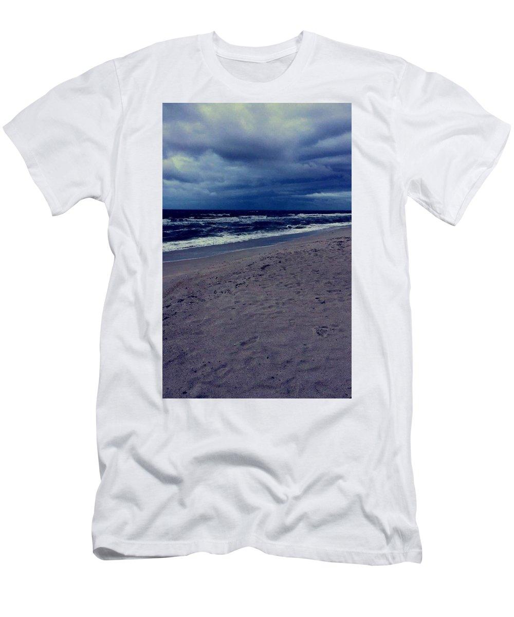 T-Shirt featuring the photograph Beach by Kristina Lebron