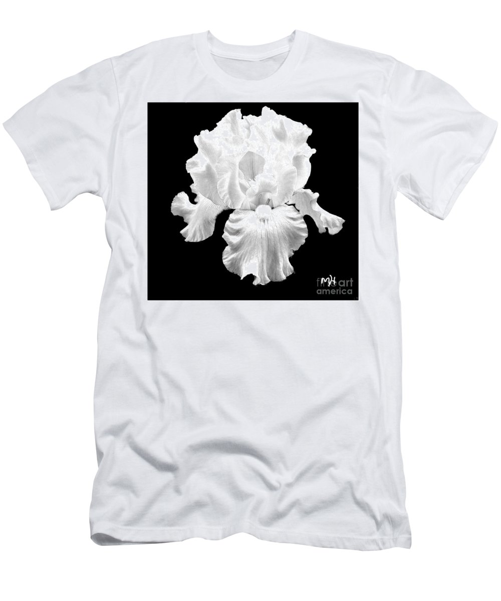 Photo T-Shirt featuring the photograph Beauty Queen In Black And White by Marsha Heiken