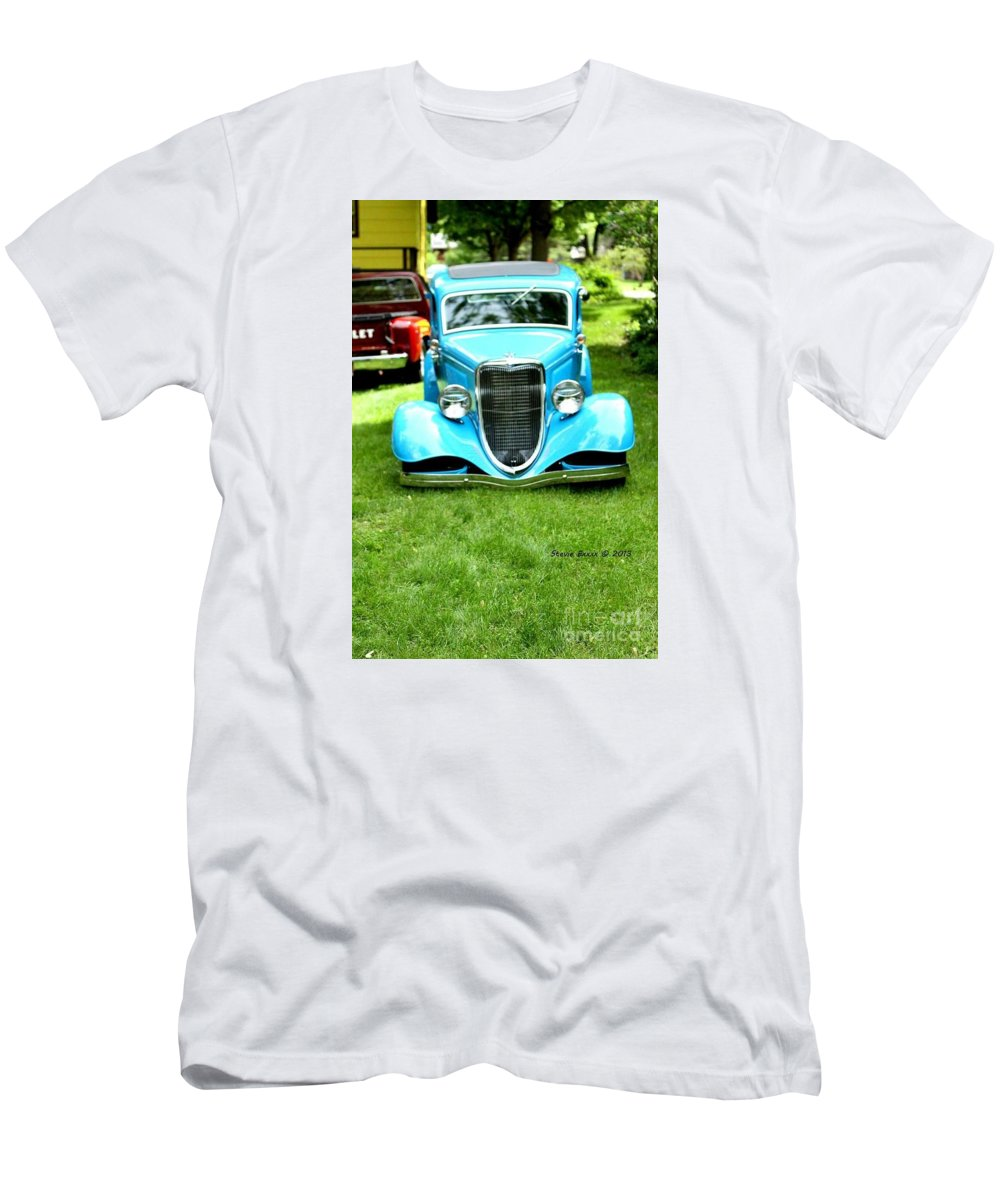 Classic Vintage Auto Automobile Car Life Photograph Collect Collection T-Shirt featuring the photograph Beyond Classic. by Stevie Ellis