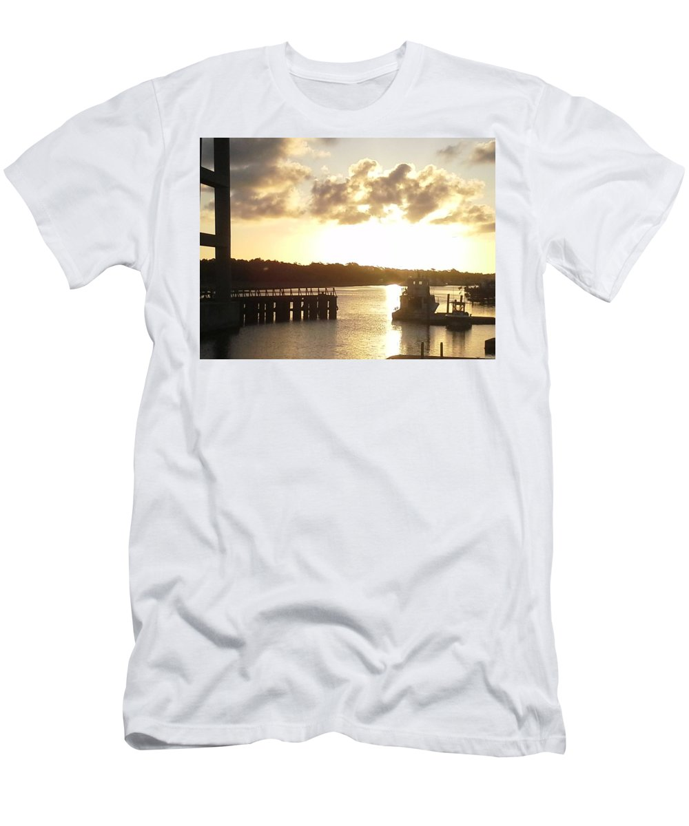 Artistry Men's T-Shirt (Athletic Fit) featuring the photograph Big Country Light by Becky Haines