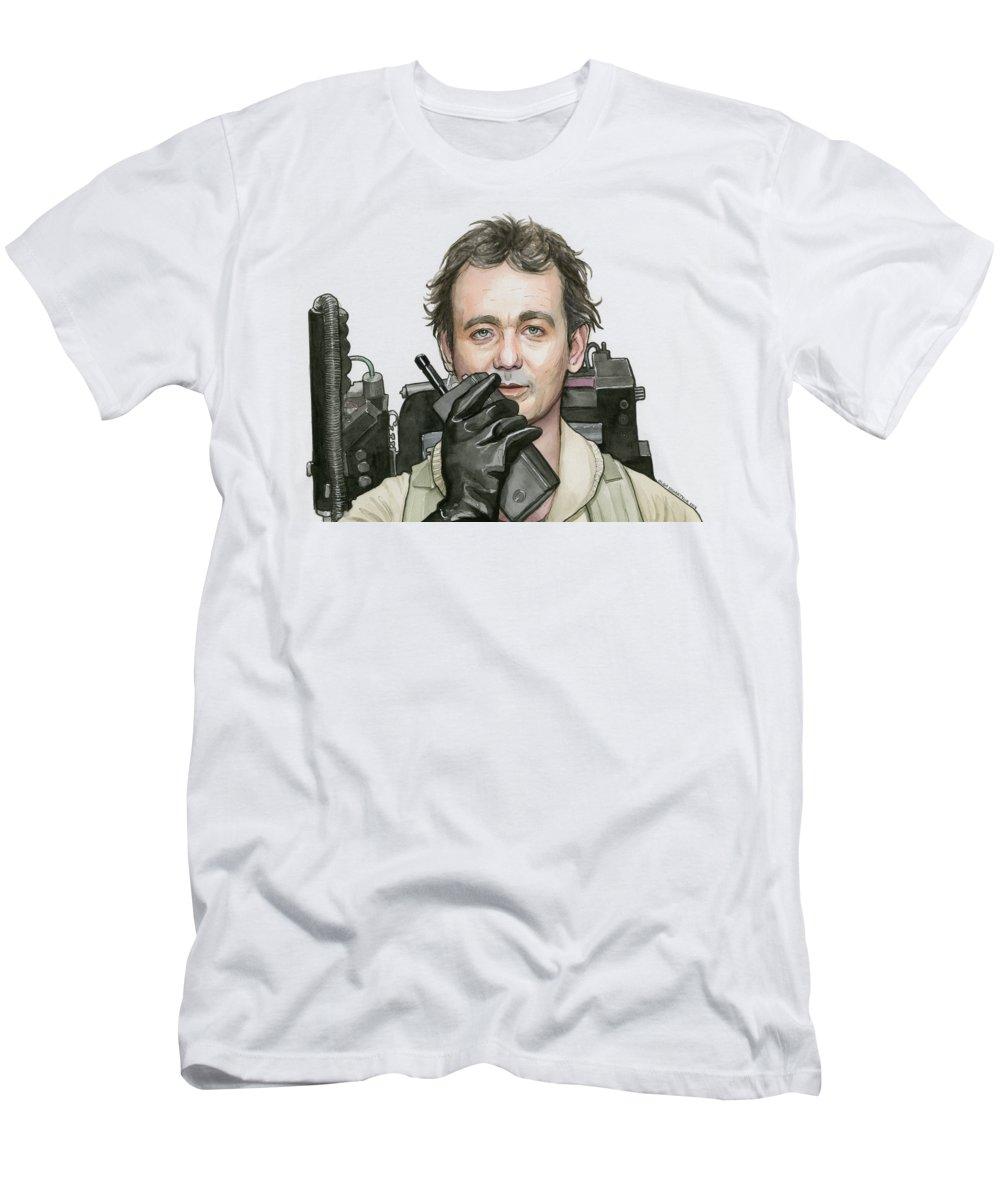 Bill Murray Peter Venkman Ghosts Scientist Tshirt Ladies