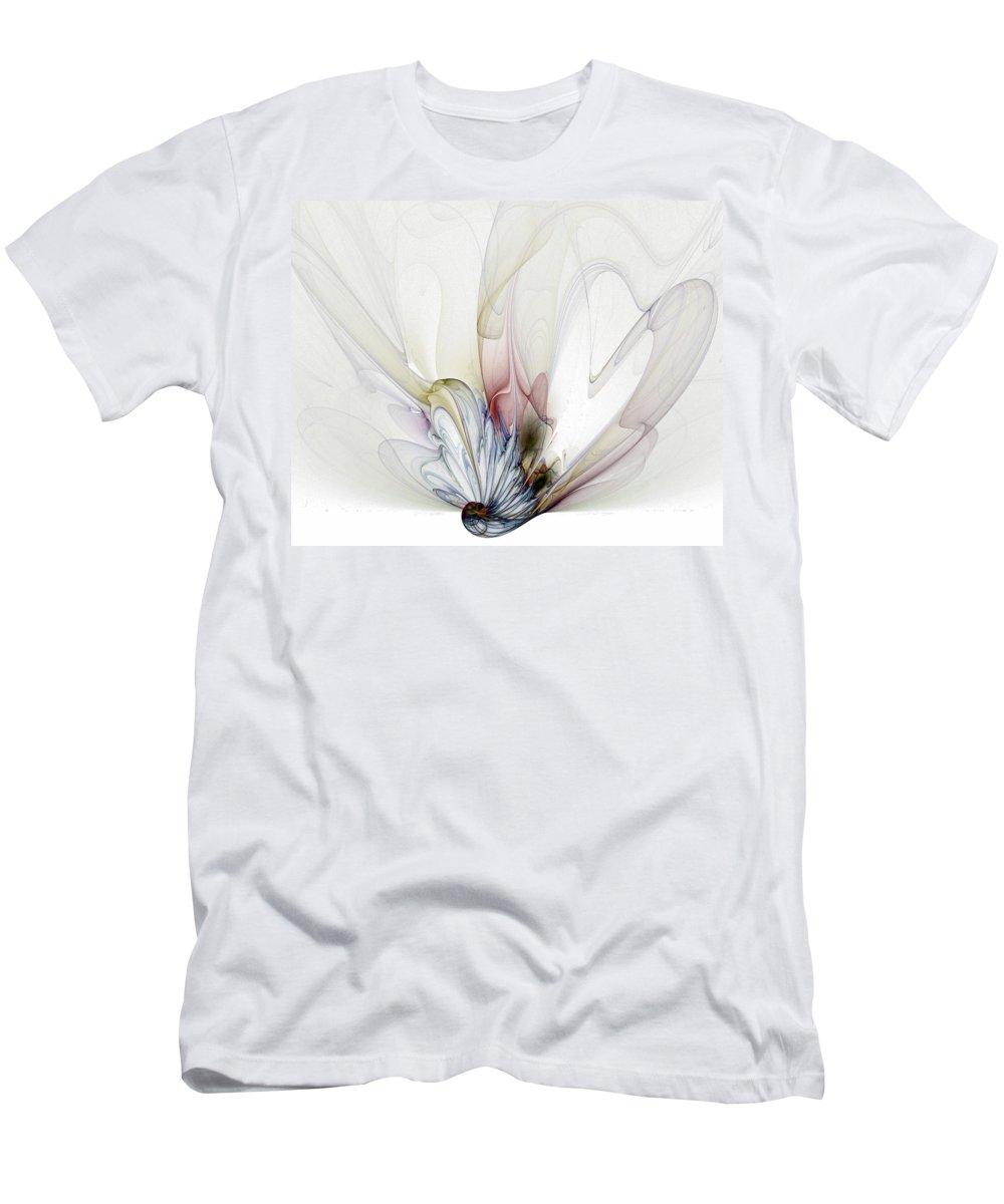 Digital Art T-Shirt featuring the digital art Blow Away by Amanda Moore