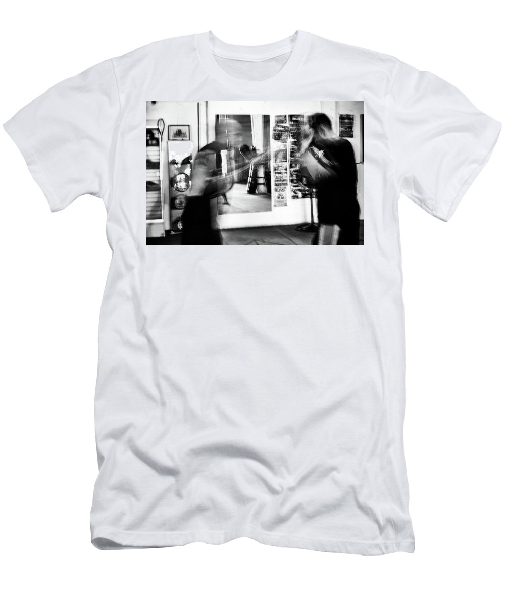 Training Men's T-Shirt (Athletic Fit) featuring the photograph Blurred Training by Elena Rojas Garcia