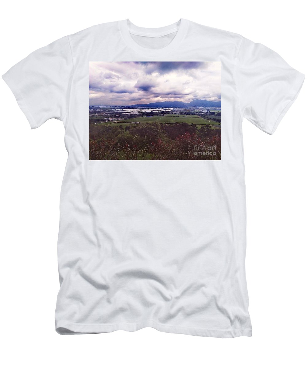 Men's T-Shirt (Athletic Fit) featuring the photograph Boyaca by Pahola Baro Sfer
