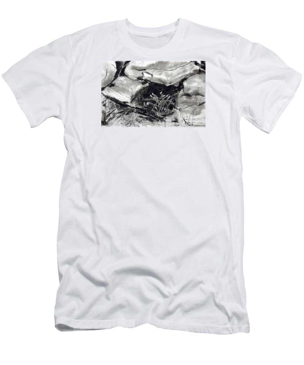 T-Shirt featuring the painting Bridget's Well by Kathleen Barnes